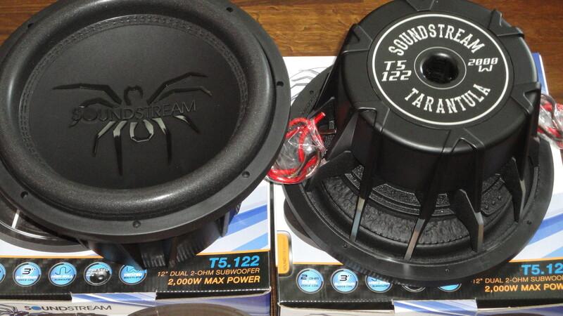 Žemų dažnių garsiakalbis  Soundstream Tarantula T5