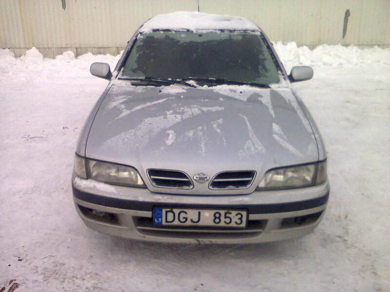 Nissan Primera P10/W10 td 1998 m dalys