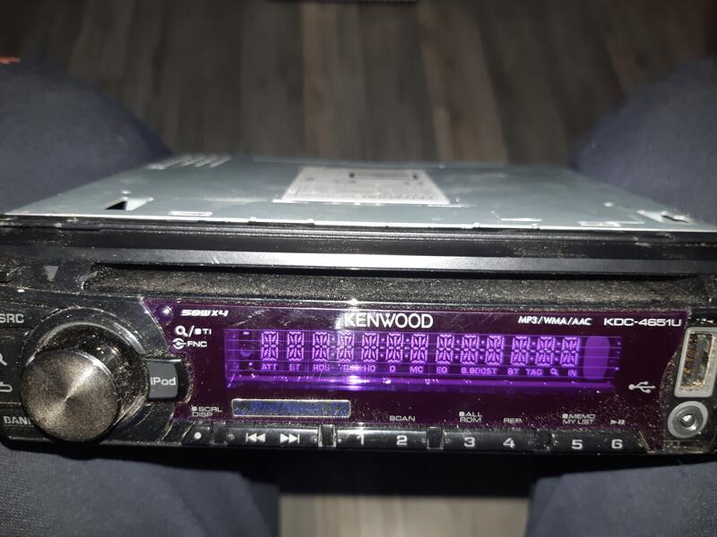 CD/MP3 grotuvas  Kenwood Kdc-4651ury