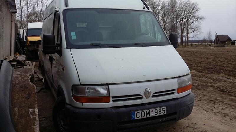 Renault Master II 1998 m dalys