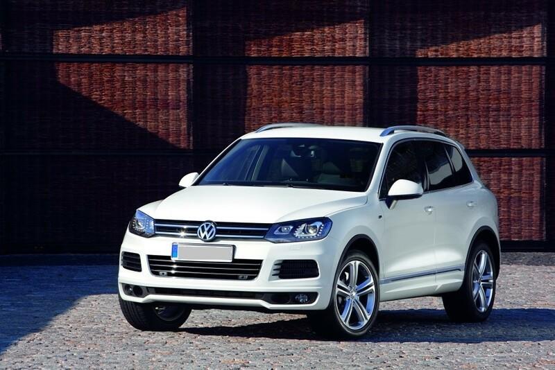 Volkswagen Touareg II 2015 m dalys