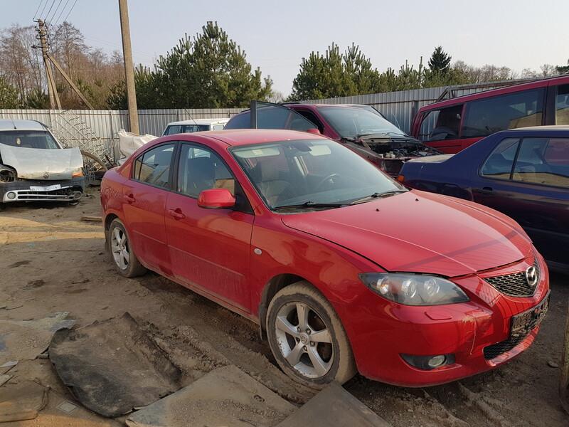 Mazda 3 I 2004 m dalys