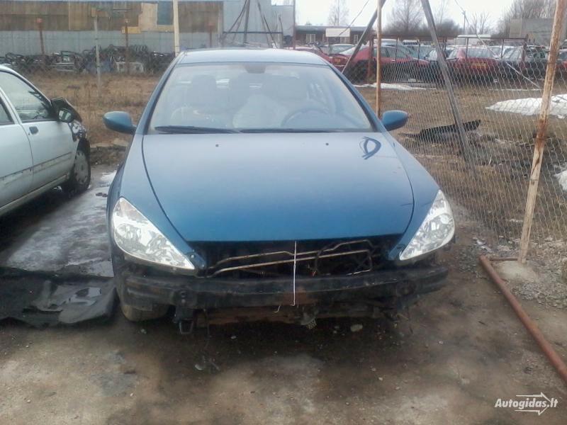 Peugeot 607 2002 m dalys