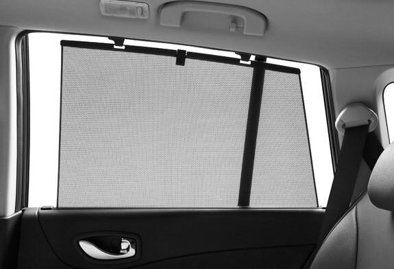 automobilio langų užuolaidėlės