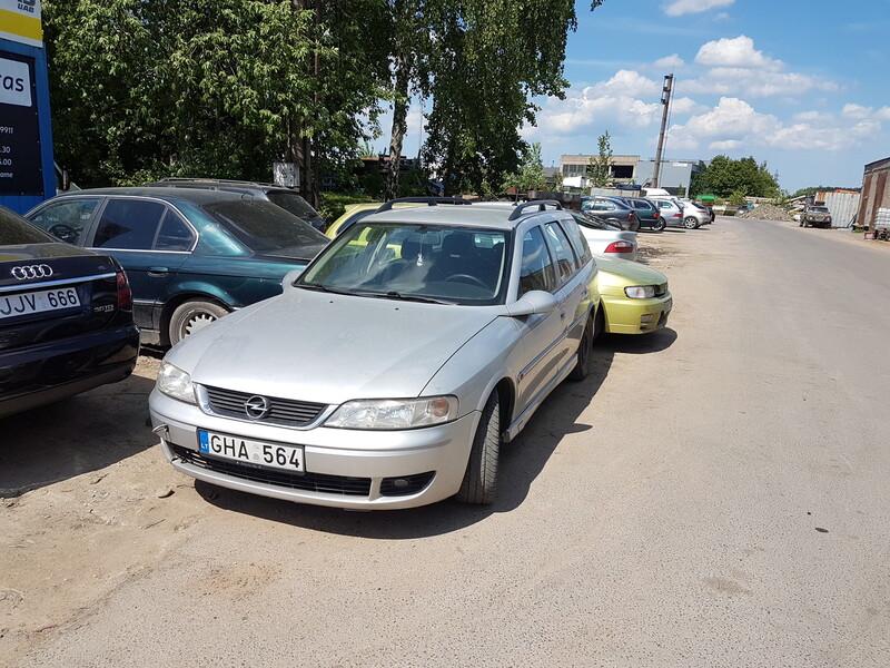 Opel Vectra B 2.2 DYZELIS 92KW  2002 m dalys