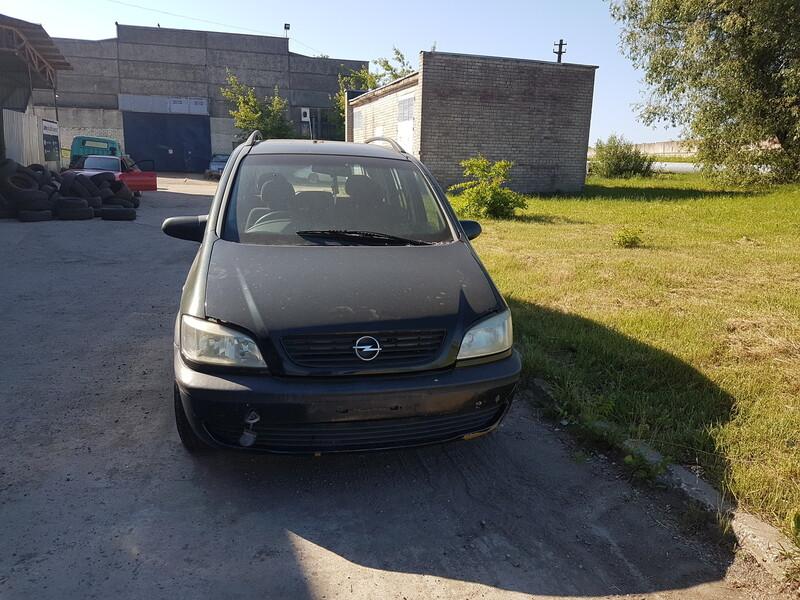 Opel Zafira A 1.6 BENZINAS  2001 m dalys