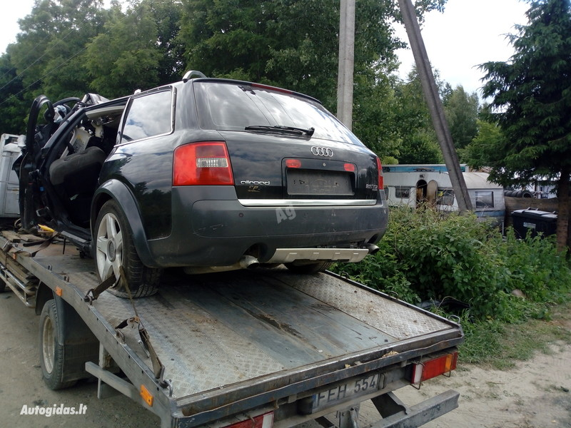Audi A6 Allroad 2004 y. parts