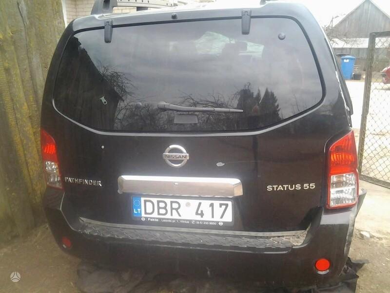 Nissan Pathfinder 2007 г. запчясти
