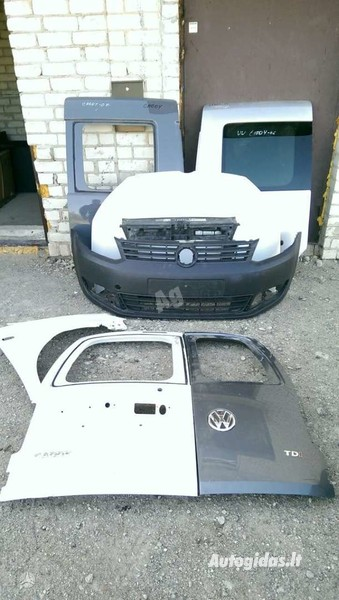 Volkswagen Caddy 2013 y parts