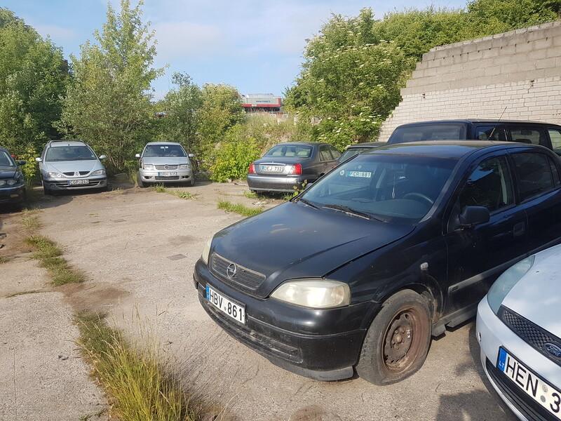 Opel Astra II 2000 m dalys