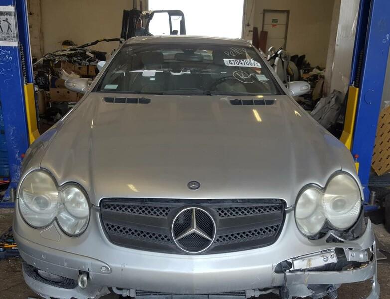 Mercedes-Benz Sl Klasė 2004 m dalys