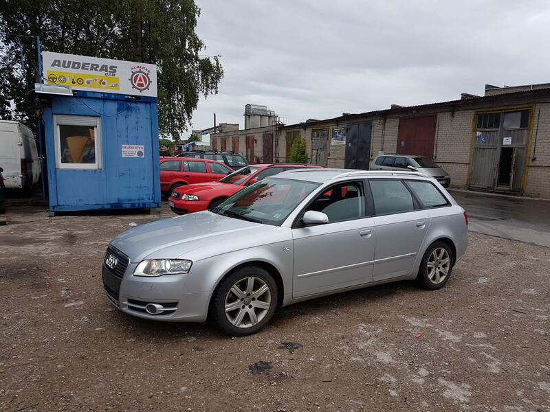 Audi A4 B7 2.0 DYZELIS 125 KW  2007 m dalys