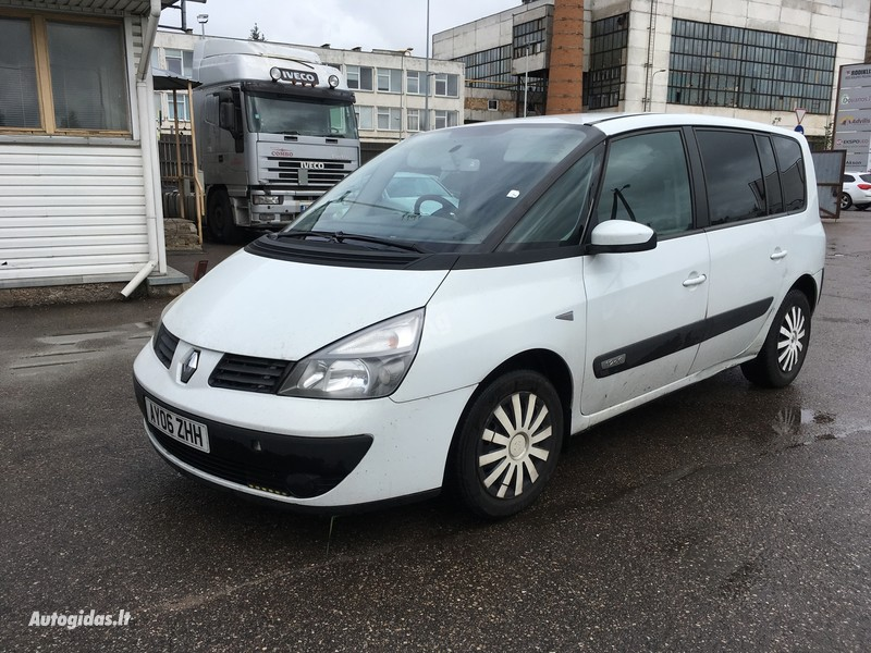Renault Espace IV 2006 m. dalys
