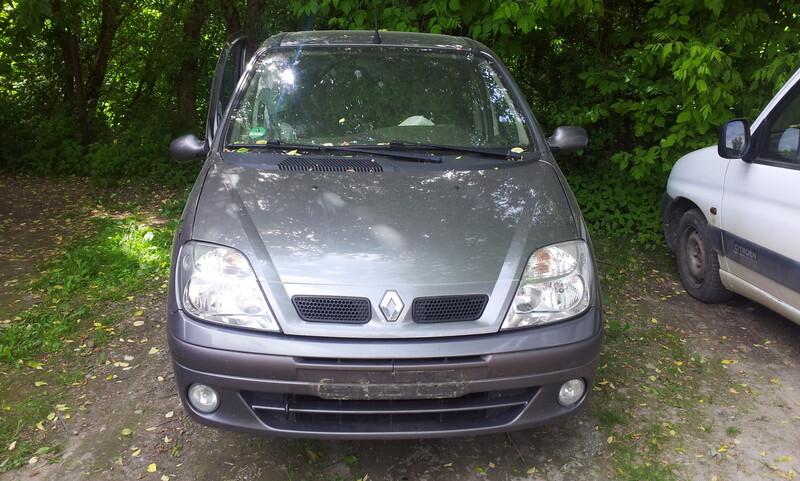 Renault Scenic I 2002 m dalys