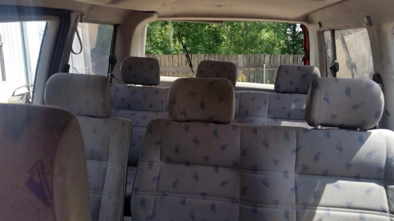 Volkswagen Transporter T4 1998 m dalys