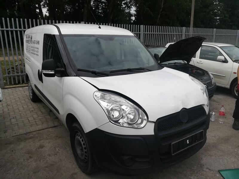 Fiat Doblo II 2011 m. dalys