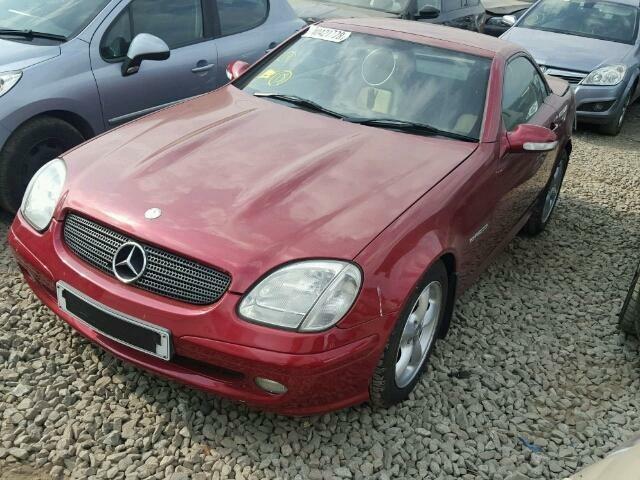 Mercedes-Benz Slk Klasė 2001 г запчясти