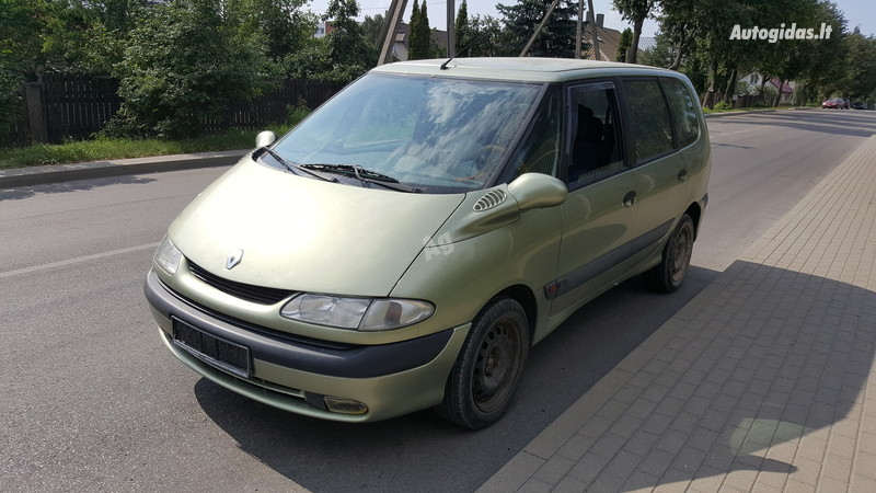 Renault Espace III 84 kW 1997 m dalys