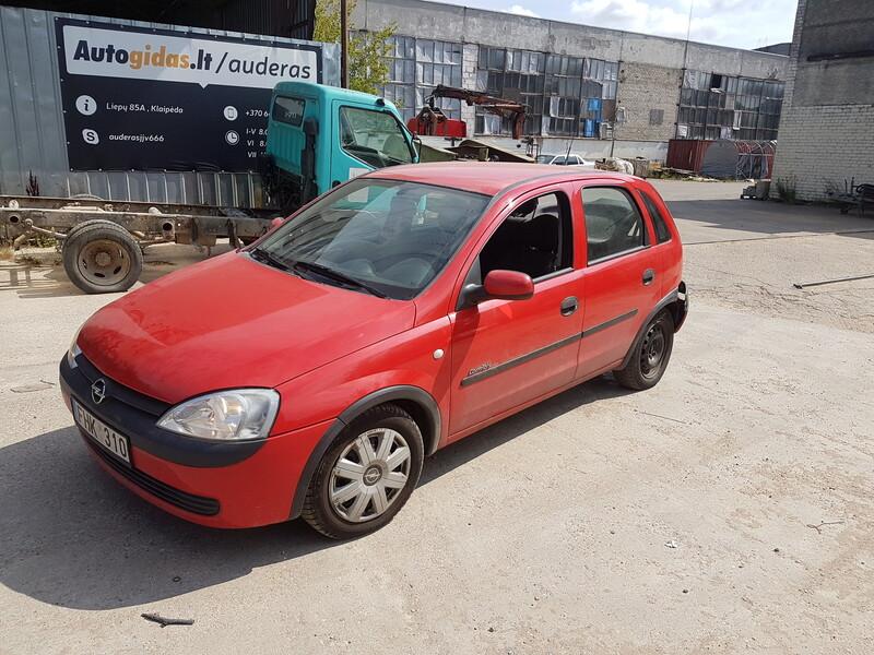 Opel Corsa C 1.2 BENZINAS 55 KW 2002 m dalys