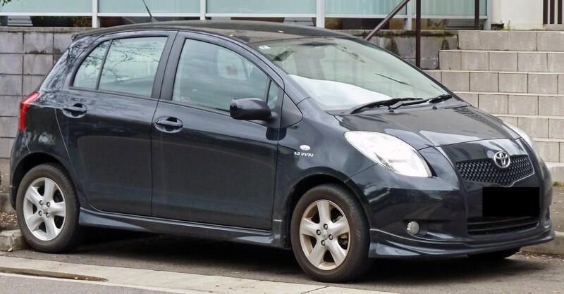 Toyota Yaris II 2008 m dalys