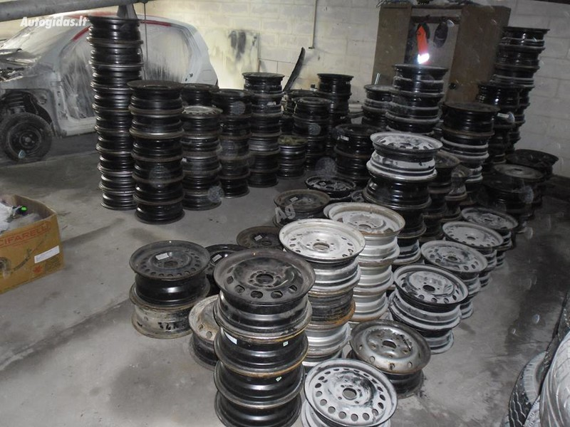 Ford R16 steel stamped  rims