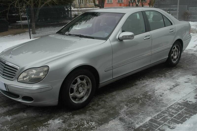 Mercedes-Benz S 320 W220 3.2 DYZELIS 150 KW  2004 m dalys