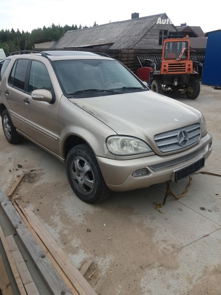 Mercedes-Benz Ml 270 2002 m dalys