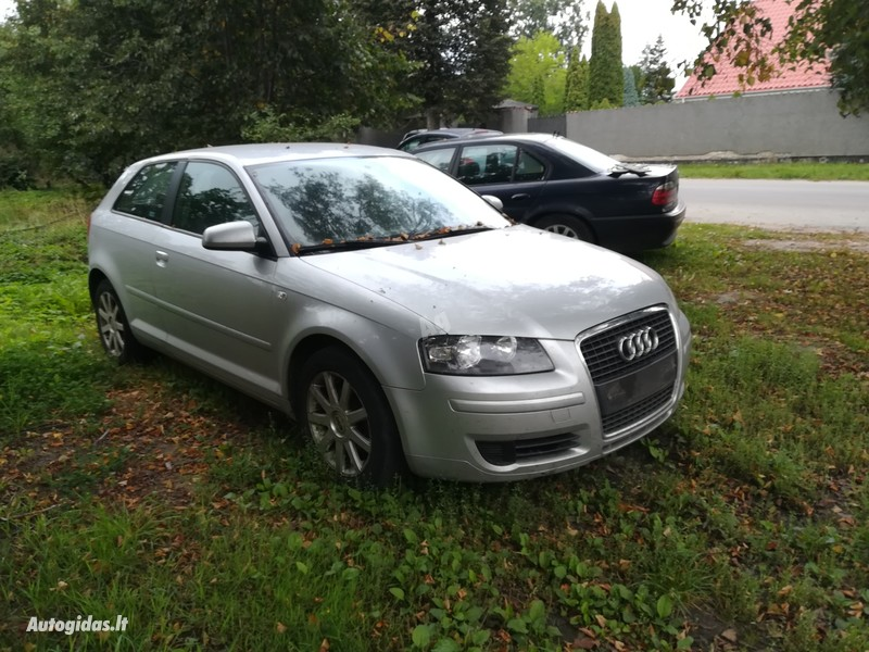 Audi A3 8P 2007 m dalys