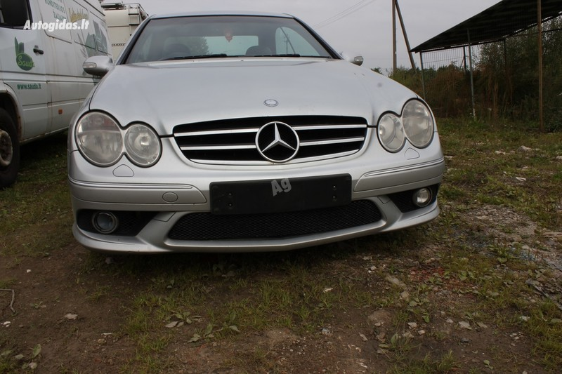 Mercedes-Benz Clk 320 W209 2007 m dalys
