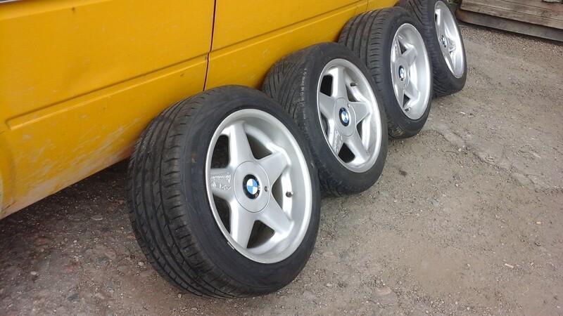BMW 540 R17 lengvojo lydinio  ratlankiai