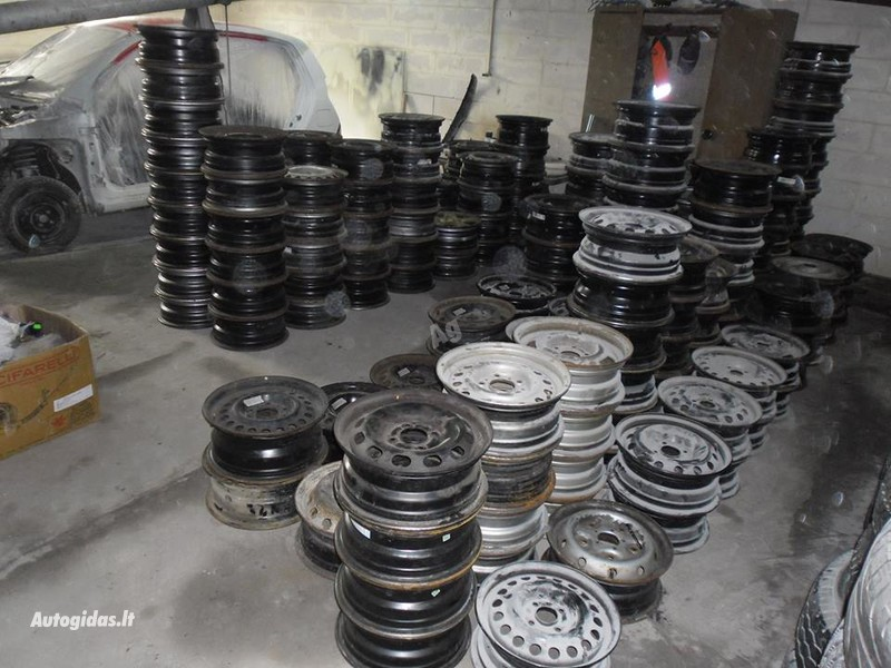 Citroen R16 steel stamped  rims