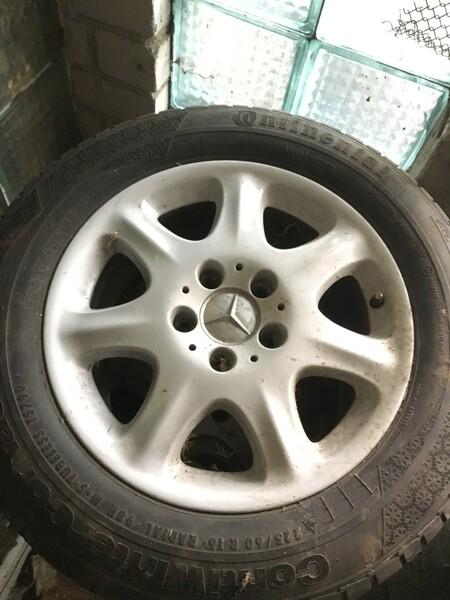Mercedes-Benz R16 lengvojo lydinio  ratlankiai