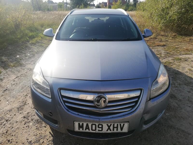 Opel Insignia 2009 m dalys