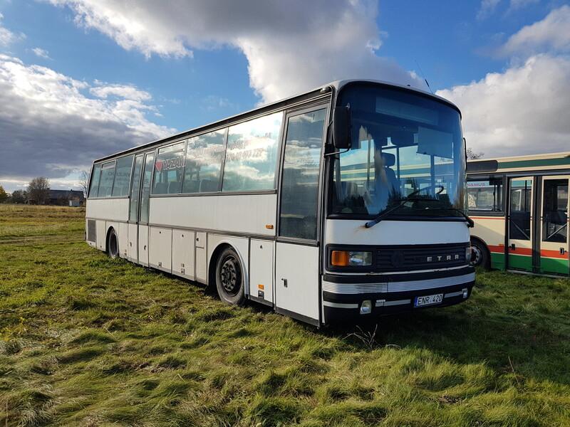Autobusas virš 8 vietų  Setra 215 1995 m dalys