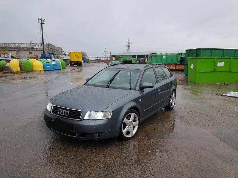 Audi A4 B6 2.5 DYZELIS 114 KW  2002 m dalys