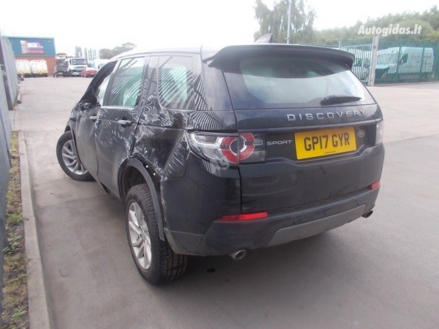 Land-Rover Discovery Sport 2017 Y Parts