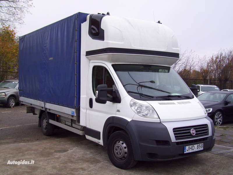 Flatbed with tilt  Fiat ducato 2014 y