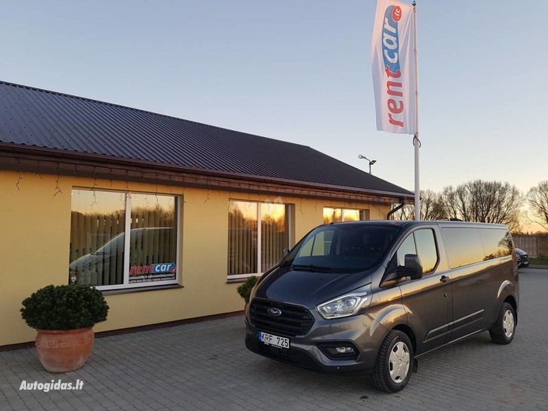 Микроавтобус  Ford Transit Custom 2018 г прокат