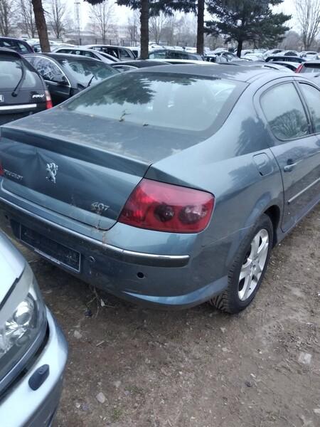 Peugeot 407 2006 y. parts