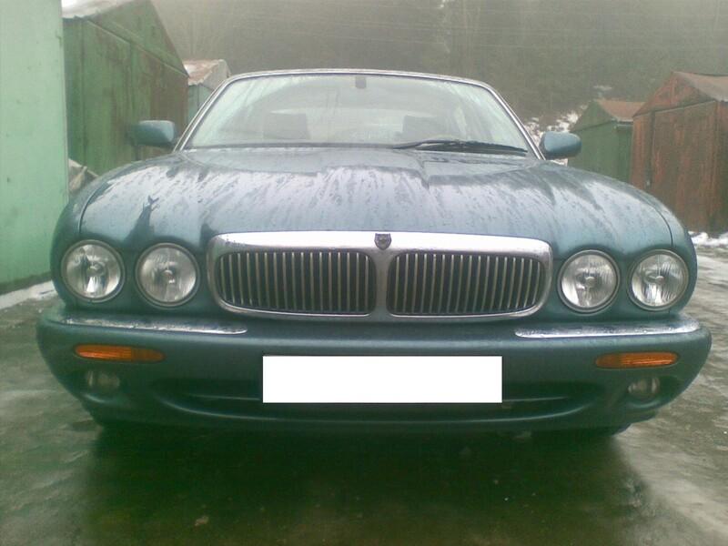 Jaguar Xj X308 1999 m. dalys