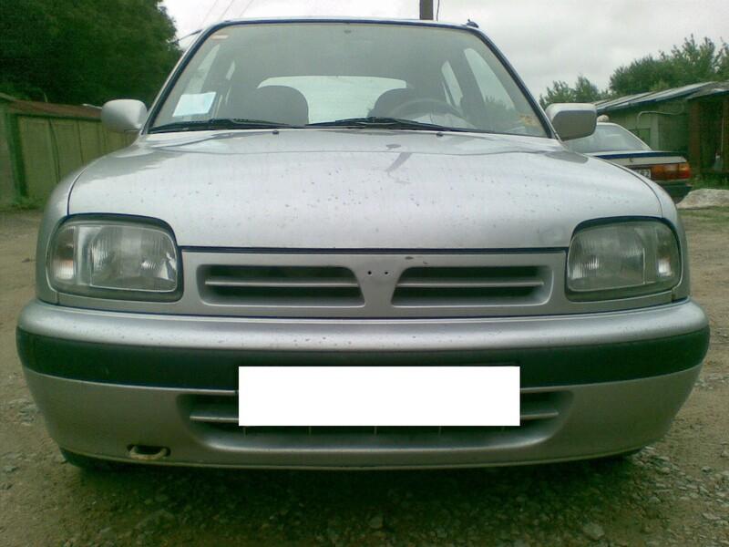 Nissan Micra K11 1993 m dalys