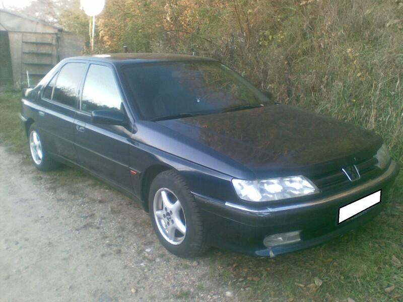 Peugeot 605 1997 y. parts