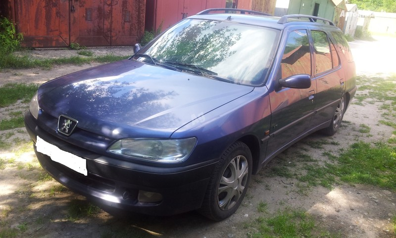 Peugeot 306 2000 m. dalys