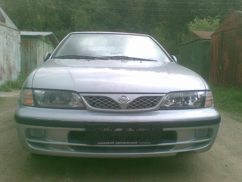 Nissan Almera N15 1999 y. parts