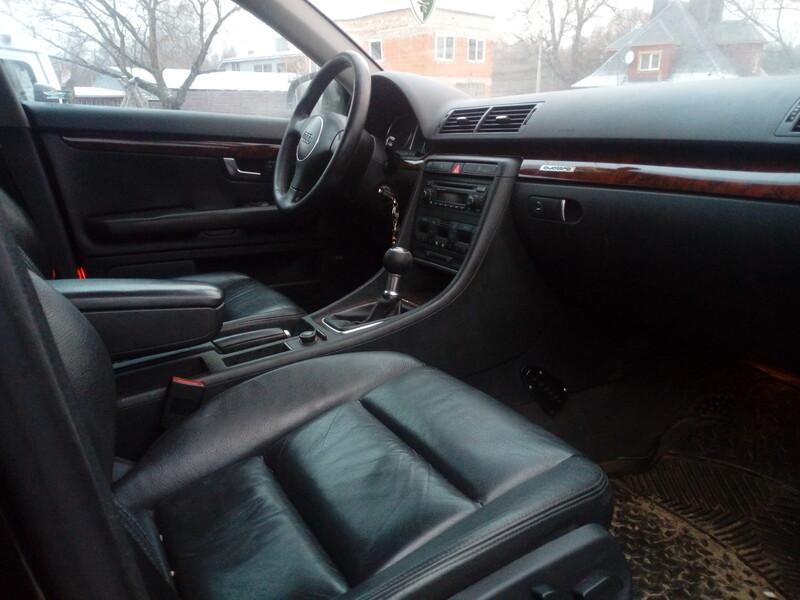 Audi A4 B6 MEHANIKA ODA QUATRO  2003 y parts