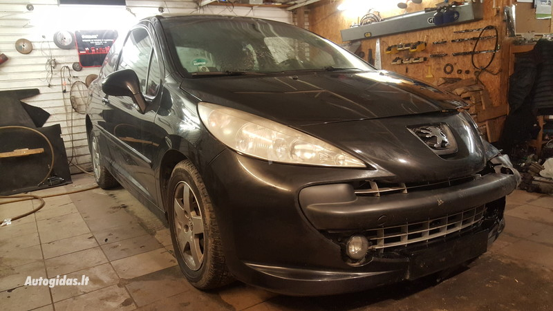 Peugeot 207 1.4i KFU 2006 m. dalys