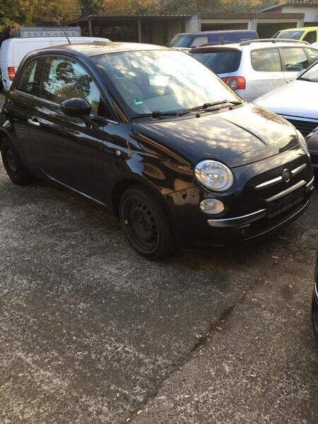 Fiat 500 2009 m dalys