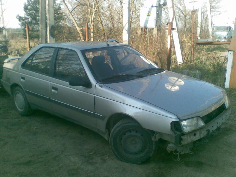 Peugeot 405 1994 y. parts
