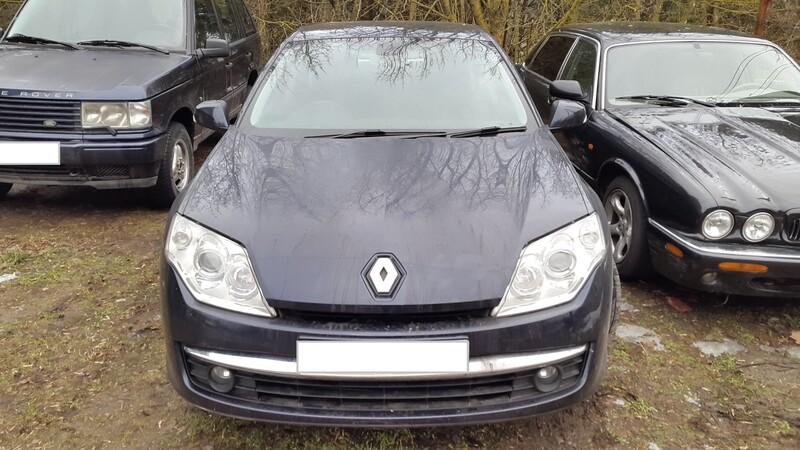 Renault Laguna III dci150 2009 m. dalys