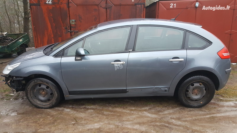 Citroen C4 I exclusive 2006 m. dalys